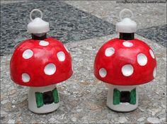 Mushroom Baubles
