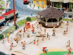 we are proud to be a supplier for Miniaturwunderland Hamburg, Germany with our Model Train Scenery and Model Train Figures http://www.modelleisenbahn-figuren.com