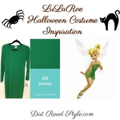Tinkerbell LuLaRoe Costume Inspiration