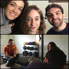 Sábado de lluvia y no hay mejor plan que entrenar con la compañía de mis amigos de Movistar+ para el canal Cero