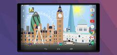 "SteScapes #London - rilassante #sfondo animato ""cartoon"" per #Android  http://xantarmob.altervista.org/?p=32981   #lw #livewallpaper"