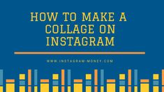 How to Make a Collage on Instagram ( BEST ARTICLE ) Instagram Money, Instagram Story, Instagram Application, Collage Video, App Drawer, The Past