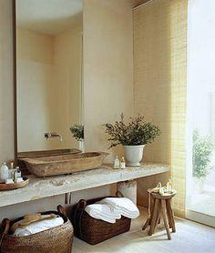 Beautiful Rustic Chic Bathroom