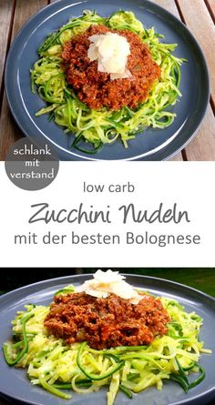 Zucchini Nudeln Bolognese – low carb Zucchini Pasta Bolognese - Low Carb - Low Carb Recipes - Slim M Low Calorie Recipes Crockpot, Healthy Low Calorie Meals, Easy Soup Recipes, Healthy Chicken Recipes, Healthy Weeknight Dinners, Diet Recipes, Dinner Healthy, Cookbook Recipes, Vegetarian Meals