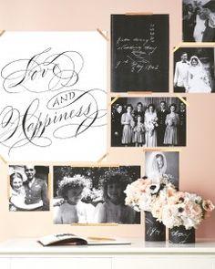9 Creative Ways to Display Photos at Your Wedding