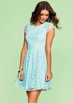 Meghan  dELiAs > Mint Lace Dress > dresses > lace