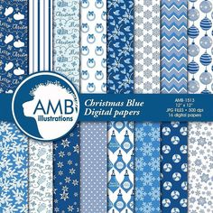 Gooood morning friends.  What colors are you looking for?  I am creating Christmas papers this week and want to know what you would like!  Let me know what your preferences are... because I now again have a blue paper set lollllll!  So for those of you who love blue... here it is:http://etsy.me/2fU1FqL  #AMBillustrations #Christmaspapers #Christmascritterspaper #Christmasforestanimaldigitalpaper #ChristmasDIYpapers #Cricut #Scrapbooking #DIYcrafts #cardmaking #artlicensing #craftsy…