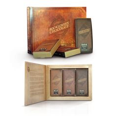 Our Book Lover's Chocolate Three Box Gift Set contains one of each Milk, Dark and Dark Espresso Chocolate boxes. A perfect gift for Birthday, Christmas, valentine, Mothers day