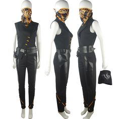 Dishonored 2 Emily Kaldwin cosplay costume halloween costume morphsuit action adventure outfit unique christmas xmas gfit