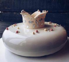 glacage miroir chocolat blanc