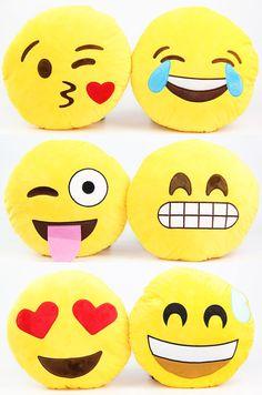 Almofada decorativa emoticons