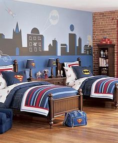 Image detail for -batman-themed-teen-room-decorating-with-model-3.jpg