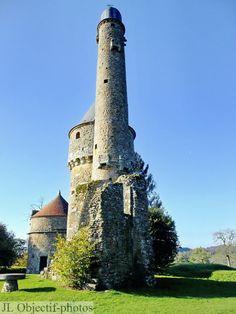 La tour de Bonvouloir, Juvigny-sous-Andaine, Orne, Normandie