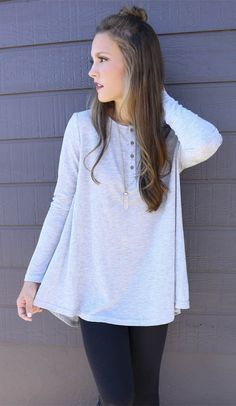 Gray Oversized Knit Top (Nastydress 8%off Coupon:NDCPP02)