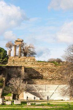 #Autumn in #Rhodes (Ancient) #Greece! Mont de Smith #Ancientgreek #theatre!