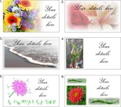 Business card digital printable photography by NewCreatioNZ, $8.00
