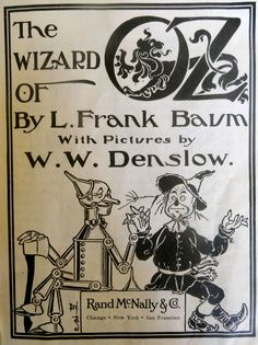 Lovely Wizard of Oz illustrations