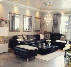 Decoración Sala (publicación De Inspire Me Home Decor En Instagram) · Living  Room IdeasLiving ...