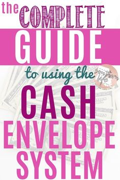 The cash envelope budget system can help you manage your finances and lead you to financial freedom. Use this simple budget to stop overspending and track your money. Budgeting Tools, Budgeting System, Budgeting Finances, Envelope Budget System, Cash Envelope System, Budget Envelopes, Cash Envelopes, Budget Help, Money Budget