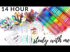 open me: I'm back with a 14 hour productive study day study with me! Study Motivation, Organization, Day, Organize, Colorado, Youtube, Tuna, Motivation To Study, Getting Organized
