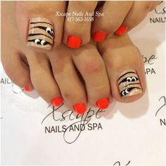 97 Best Fall Pedicure images | Toe nails, Toe nail designs ...