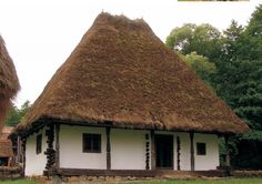 Transylvania Romania, Vernacular Architecture, Old Houses, House Plans, Cottage, House Design, Cabin, Traditional, Vacation