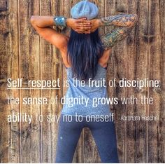 533cc3f3490  selfrespect  selfcontrol  discipline Healthy Lifestyle Quotes
