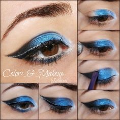 This how-to/pictorial will definitely make it easy to get this enchanting cat-eye look! Wear it at your next party this weekend!
