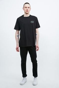 MHI by Maharishi Passport Tee in Black