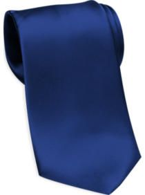Joseph & Feiss Gold Narrow Washable Tie, French Blue
