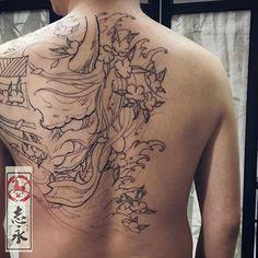 #hannyatattoo#tattoo#tattooed#tattooist#tattoostuff#tattoostagram#cooltattoos#Blackandgraytattoo#tattooartmagazine#tattoosnob#art#ink#arttattoo#samuraitattoo#Nirvana#asiantattoo#europeantattoo#zhiyongtattoo#chinesetattoo#traditionaltattoo#orientaltattoo#japanesetattoo#crazyytattoos#originaldesign#inkpainting