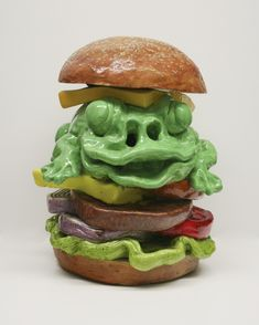 Gilhooly, David – Giant Frog Burger | EFG Private Collections