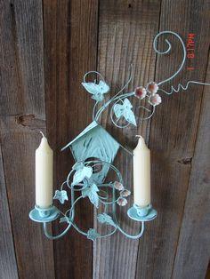 Vintage Mid Century Brass Metal Wire Alladin Style Decorative Bird ...