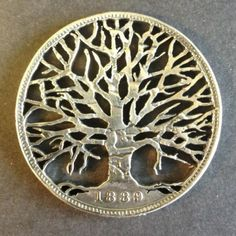 Whimsical images sawn into old coins [20 pictures]  These coins-turned-pendants are designed and sold by Thornhill Jewellery…