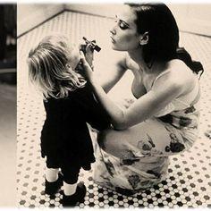 Mum and daughter photo opportunity, #minime #likemotherlikedaughter #highfashion
