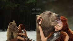 My Modern Metropolis-Moscow-based photographer Darya Kondratyeva reinterprets spellbinding tales of enchantment in her beautiful portraits of young women and their animal companions. Fantasy Photography, Animal Photography, Nice Photography, Image Emotion, League Of Angels, Real Life Fairies, Photographer Wanted, Portraits, Model Face