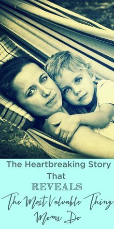 What is that one thing we use to define motherhood? This is the heartbreaking story that reveals the most important thing mothers do.