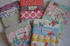 Patchworked Notebook Covers | Flickr - Photo Sharing!