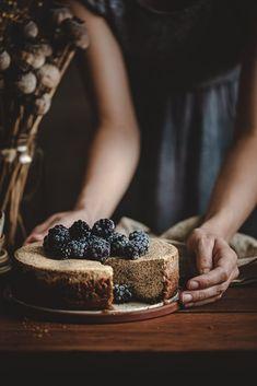 Tvarohový cheesecake s makom - Recept - Lenivá Kuchárka Healthy Cookies, Cheesecakes, Blackberry, Great Recipes, Gluten Free, Cupcakes, Fruit, Sweet, Food