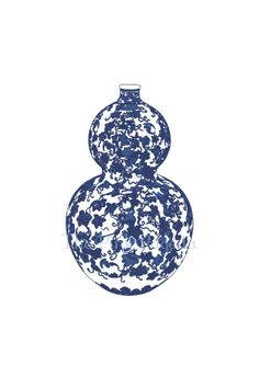 Blue and White Chinese Vase - 5  13x19 Giclee