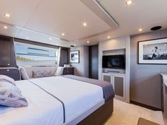 Master Cabin  Of The Numarine Yacht