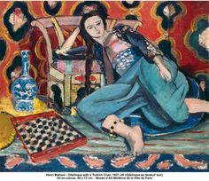 Matisse- Odalisque with a Turkish Chair 1927-28
