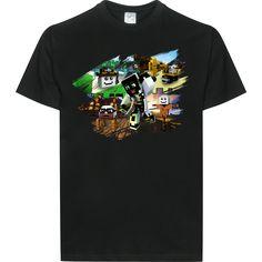 ArazhulHD ArazhulHD - Pupi T-Shirt B&C EXACT 190 - Schwarz