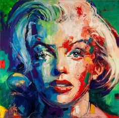 Marilyn - Pictify - your social art network