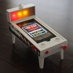 The Pinball Magic accessory is the most realistic experience your iPhone or iPod touch has ever known. Realistic machine cabinet with folding legs for easy transport and storage. Download the free app from the App Store online store. Buy $31.22