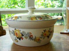 Harker pottery | Vintage Harker Pottery Hotoven Ware