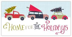 Holiday Trek Home - Christmas Cards from CardsDirect