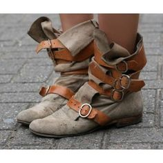Buckle Boots. Super Cute.