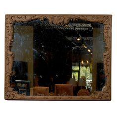 18th Century Louis XV Period Mirror in Wood Frame
