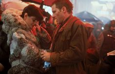 Blade Runner - Publicity still of Harrison Ford & Sean Young. The image measures 5139 * 3446 pixels and was added on 1 May 1980s Films, Sci Fi Films, Film Blade Runner, Blade Runner 2049, Christopher Reeve, Harrison Ford, Martin Scorsese, Alfred Hitchcock, Stanley Kubrick